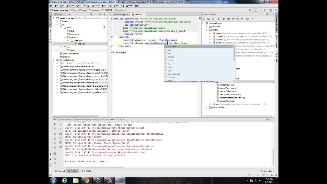 Web development using spring and angularjs tutorial 1 youtube web development using spring and angularjs tutorial 1 baditri Choice Image