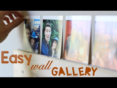 HOW TO: DIY an Easy Wall Gallery