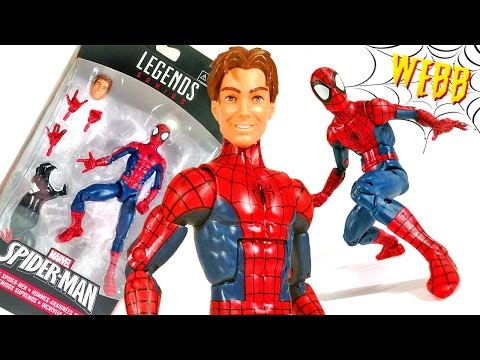 MARVEL LEGENDS Peter Parker ULTIMATE SPIDER-MAN Action Figure Review