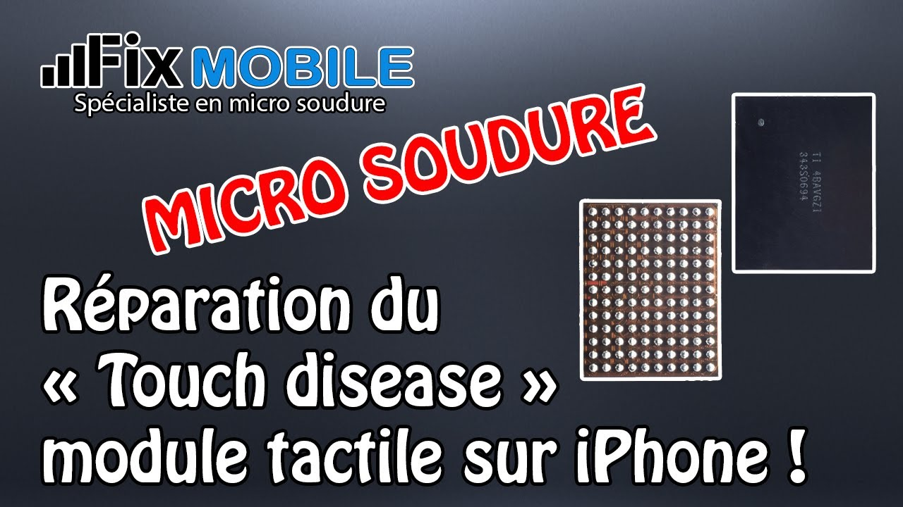 Iphone Touch Disease Fix