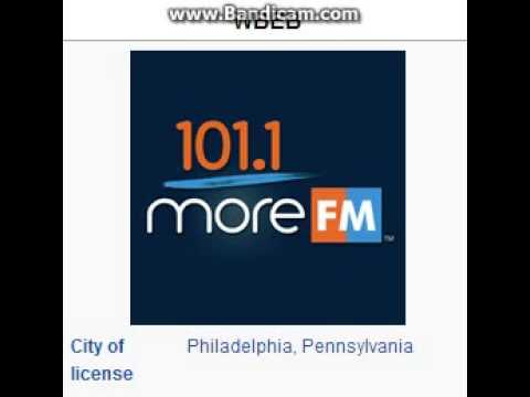 "25 Days of Christmas Radio - Day 2: WBEB: ""101.1 More FM"" Philadelphia, PA TOTH ID 11am ET--12/02/15"
