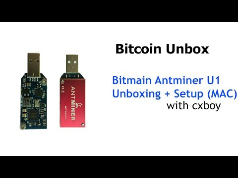 Bitmain Antminer U1 Block Erupter 1.6GH/s Unbox Video | Bitcoin Unbox