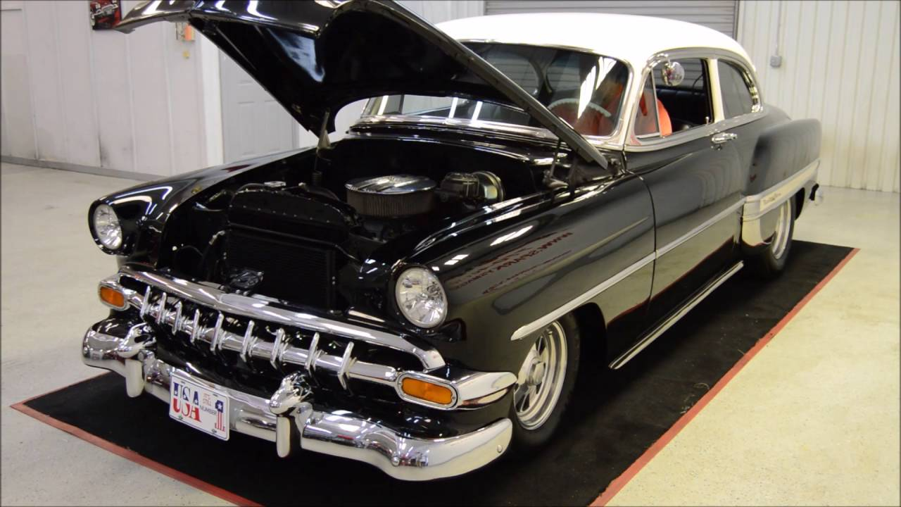 All Chevy 1954 chevy : 1954 Chevrolet Bel Air - YouTube