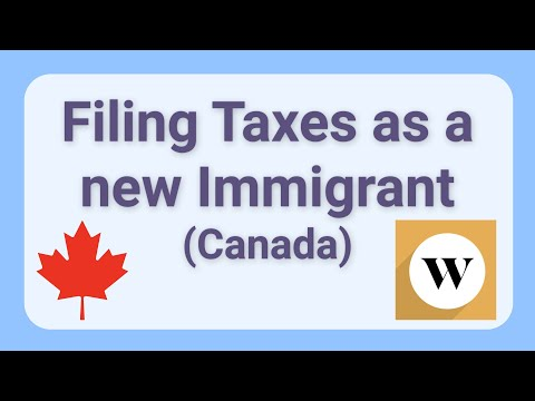 Filing Canadian Taxes as a New Immigrant with Foreign Credits, using Wealthsimple Tax!