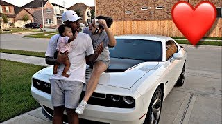 SURPRISING HUSBAND WITH DREAM CAR (HE ALMOST CRIED)!