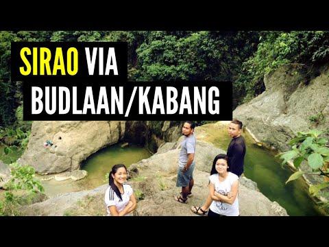 Trekking to Sirao via Budlaan/Kabang Falls