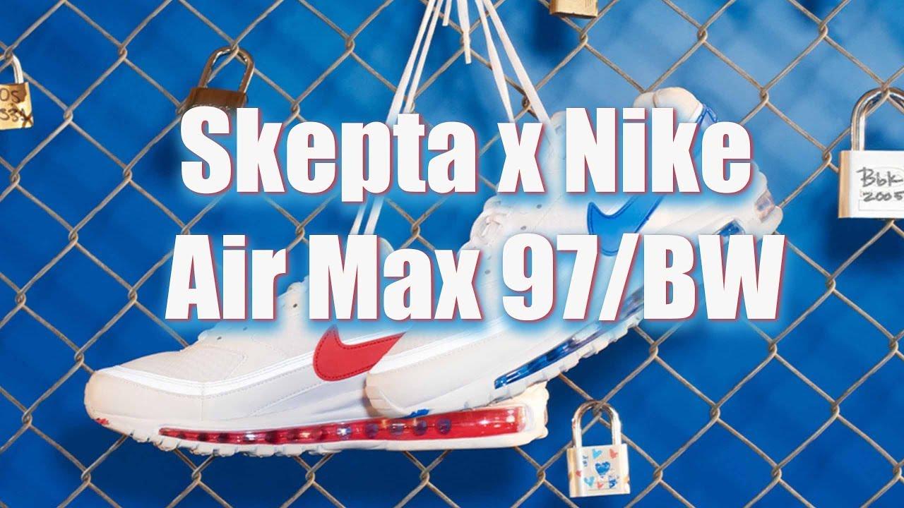 01260106d1 Skepta x Nike Air Max 97/BW - YouTube