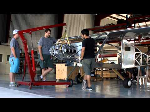 Bede Aero Wing & Engine Time Lapse