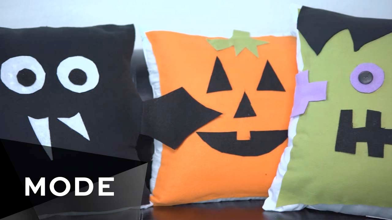 4 diy pillow ideas | ☠ halloween style scene ☆ glam - youtube