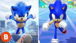 5 Times Movie Sonic Went Way Faster Than In The Video Game