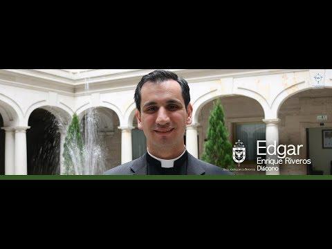 Entrevista al diácono Edgar Enrique Rivera