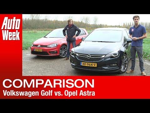 Volkswagen Golf vs. Opel Astra (2016) AutoWeek review