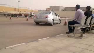 dallah driving school riyadh saudi arabia parallel parking test