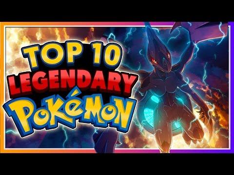 Top 10 LEGENDARY & MYTHICAL Pokémon!