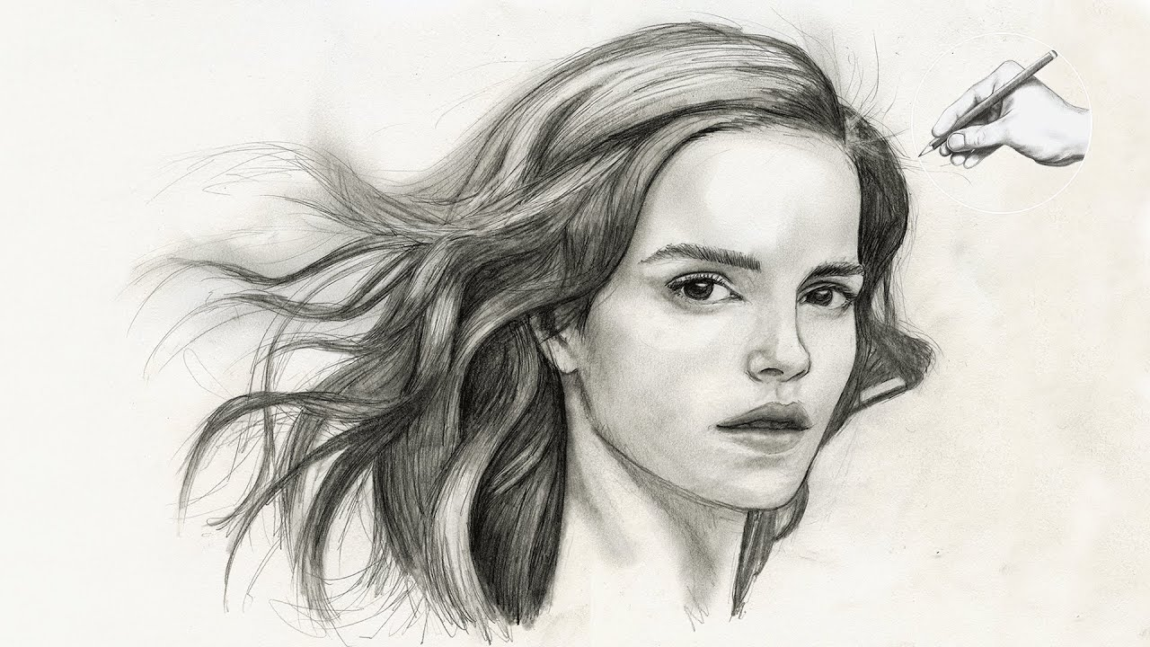 Scribble Drawing Portraits : How to draw realistic faces imgkid the image