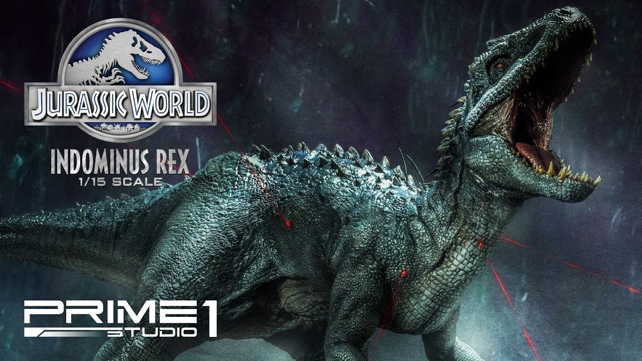 Prime1studio Indominus Rex Jurassic World Film Statue Youtube