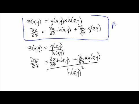 Partial Derivatives and Implicit Differentiation