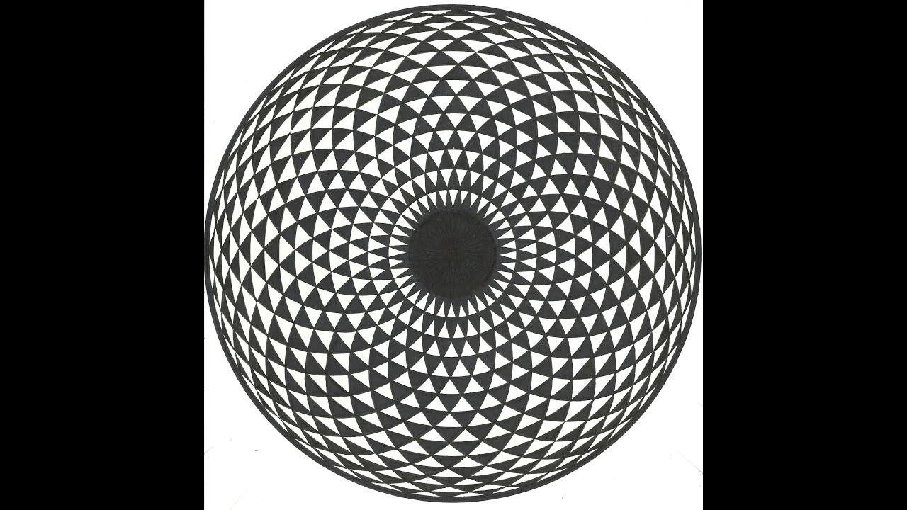 hypnotic eye drawing