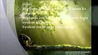 """Sajak Basa Sunda """"GUSTI"""" - Gartika D.J"""