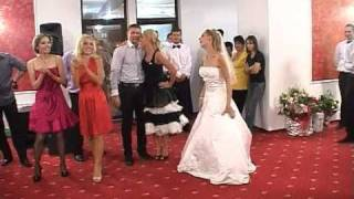 Best funny surprise bride dance - French Can-Can