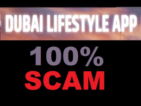 Dubai Lifestyle App Systen Review - Importan Trading SCAM Warning!