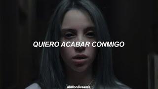 Billie Eilish - bury a friend (español   video oficial)