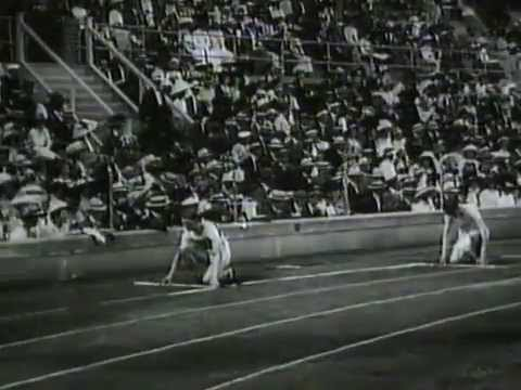 1912 Stockholm Olympics - 100m & 200m