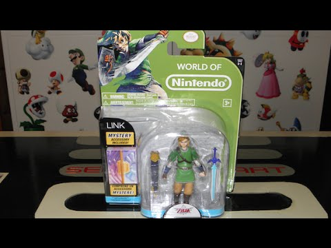 Link World of Nintendo Figure Unboxing + Review