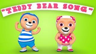 Teddy Bear Teddy Bear Turn Around Best Nursery Rhymes WooHoo Rhymes 4K
