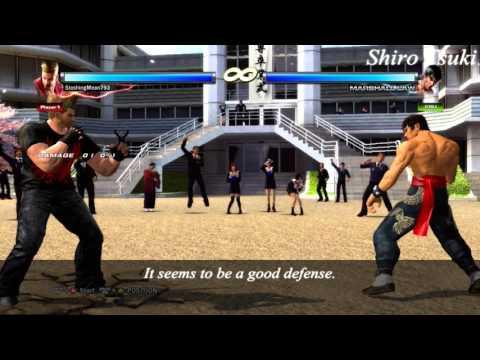 Tekken 6 & Tag 2 - Law DSS Defense (Lost move)