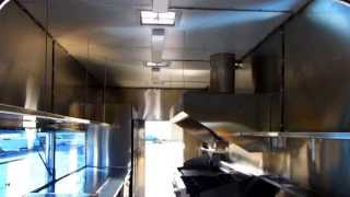 (inside Video) Custom Build Concession Trailer For Catering Nbc Shows