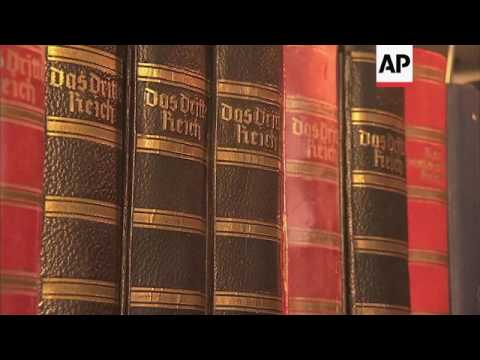 Annotated 'Mein Kampf' best seller in Germany