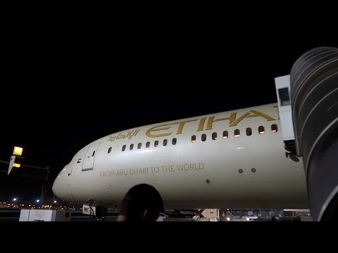 Etihad's BRAND NEW B787-10 Dreamliner: Abu Dhabi to Kuala Lumpur in Business Class