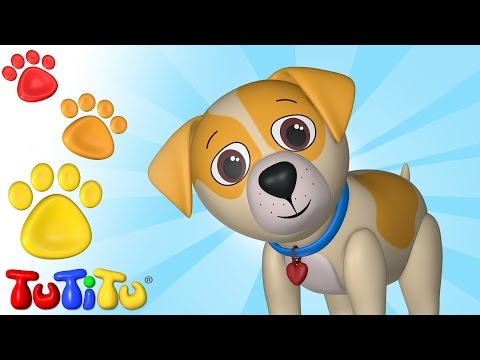 TuTiTu Animals | Animal Toys for Children | Dog and Friends