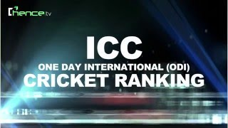 ICC ODI RANKING, Points, Match list & team Rating