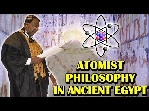 Dr. Théophile Obenga and Atomist Philosophy in Ancient Egypt