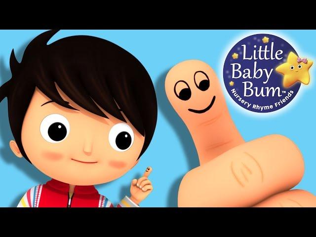 Where Is Thumbkin?   Nursery Rhymes   By LittleBabyBum!