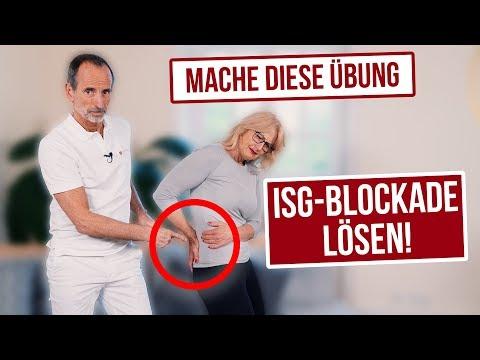 Deine ISG-Blockade löst sich in Luft auf wenn du diese Übungen jeden Tag machst!