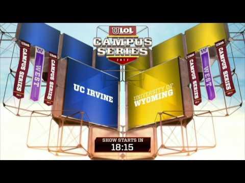 2017 uLoL Campus Series Week 1: UC Irvine vs Wyoming