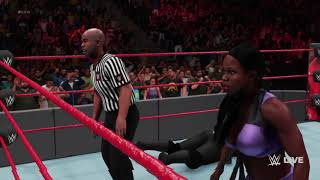 WWE 2K18  Jacqueline vs Nia Jax  June 17, 2018  (PS4)