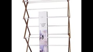 How To Store Your Rack: Mainstays Oversized Drying Rack  (request By Maimuna Azad)