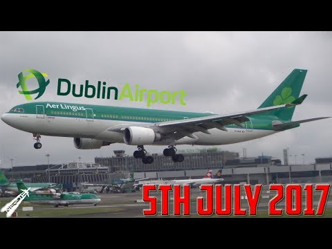 Spotting at Dublin Airport [EIDW] | 5th July 2017