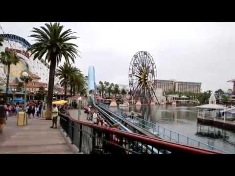 HD FULL Disney California Adventure Walkthrough 2016