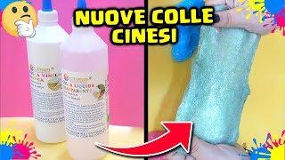 SLIME con NUOVE COLLE CINESI: FUNZIONERANNO? Nuove colle cinesi per fare lo Slime! by FrancyDreams