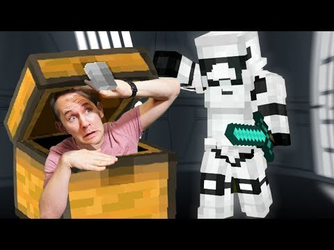 Hide & Seek In The Death Star! | Minecraft Mixed Reality!