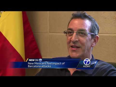 Albuquerque man with family & friends in Barcelona reacts to attack