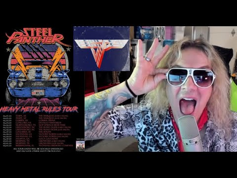 Steel Panther cover 2 Van Halen songs and announce a Spring 2021 tour ..!