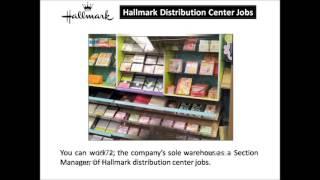 Hallmark Distribution Center Jobs