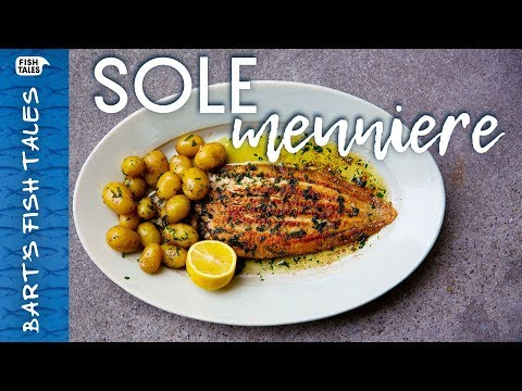 How To Pan-Fry DOVER SOLE Meunière! | Bart Van Olphen