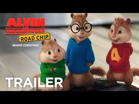 Alvin and the Chipmunks: The Road Chip | Official Trailer 2 [HD] | FOX Family